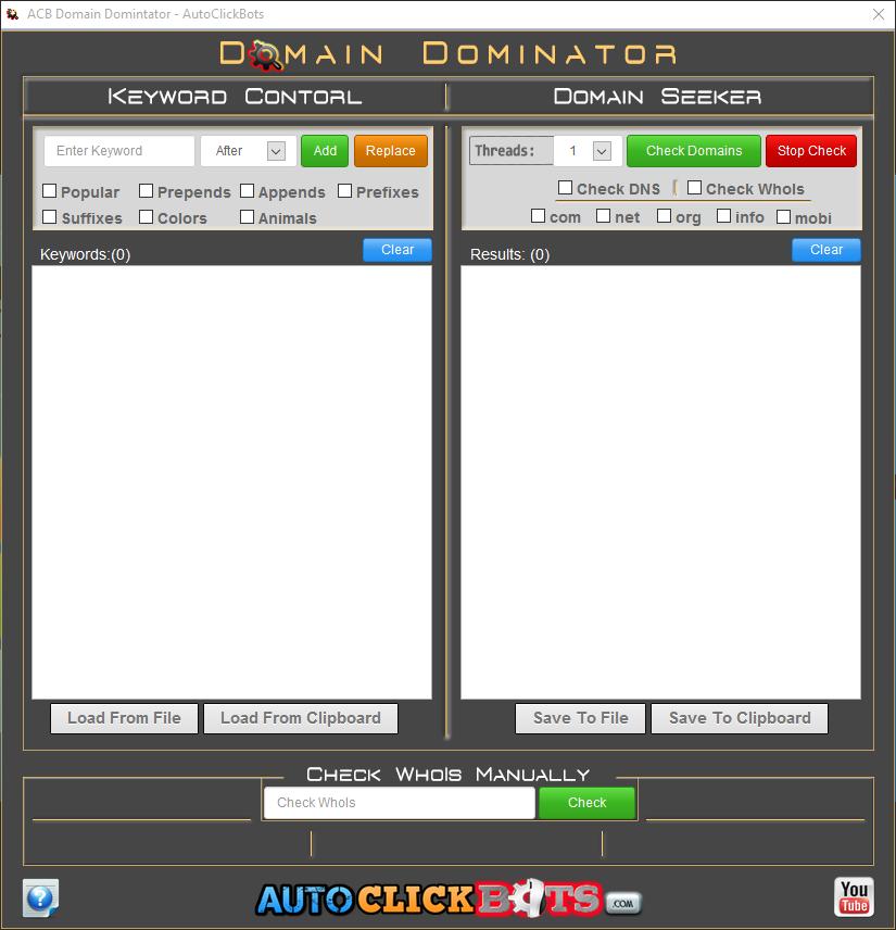 Domain Dominator
